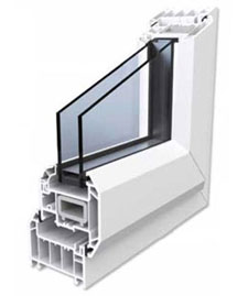 a rated pvcu window
