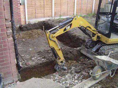building foundation work leeds extension
