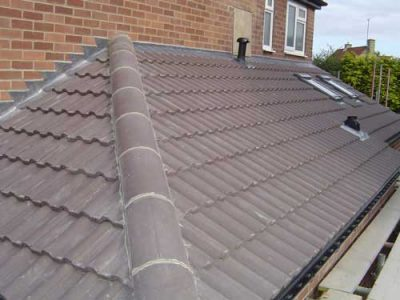 completed roof leeds building project extension