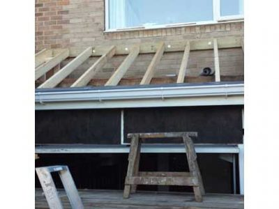 extension roof timbers harrogate detatched house