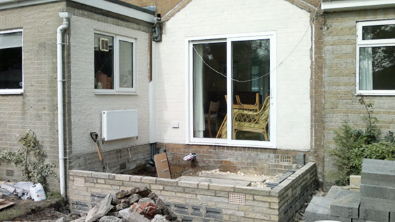 foundations for rear extensions harrogate home