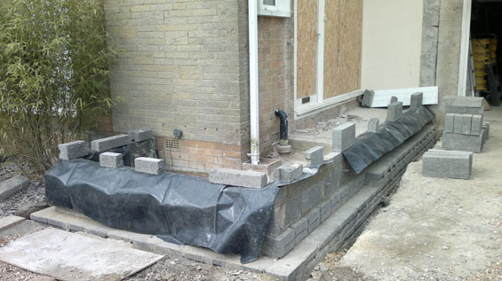 front porch foundations harrogate house