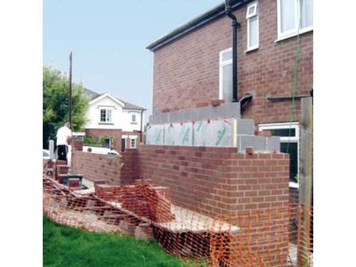garage under construction leeds building project