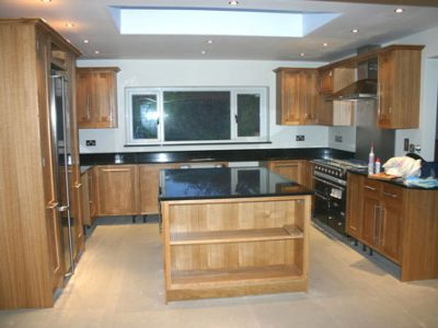 handmade oak kitchen leeds renovation