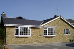 home renovation project and retro fit insulation upgrade detached bungalow leeds