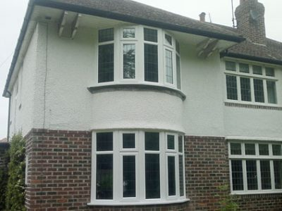 new A rated PVCu energy-saving windows semi detached house harrogate