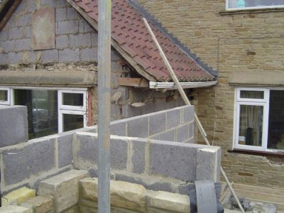 new extension built to side of house leeds