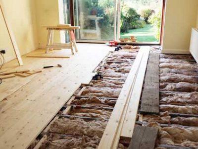 new floor insulation detached house harrogate