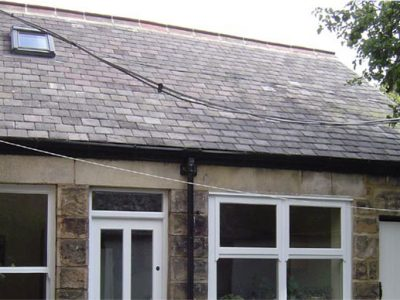 new slate roof and velux roof window harrogate period house