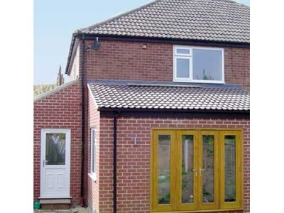 semi detached extension building project leeds