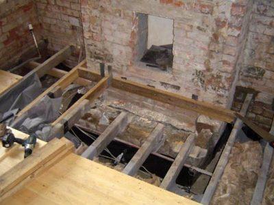 terraced house harrogate joist repairs