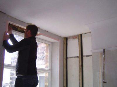 terraced house harrogate lintel insulation