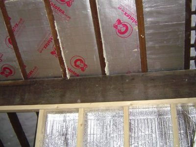terraced house harrogate roof insulation