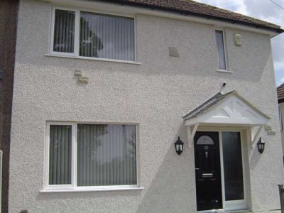 New A rated windows and external wall insulation 2010