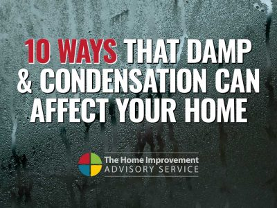10 ways that damp can affect your home